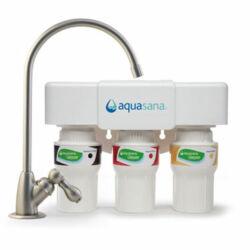 Új generációs Aquasana háromszűrős víztisztító beépíthető csapteleppel - AQ-5300