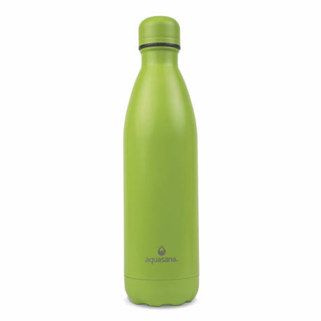 Aquasana nemesacél hőtartó kulacs zöld színben