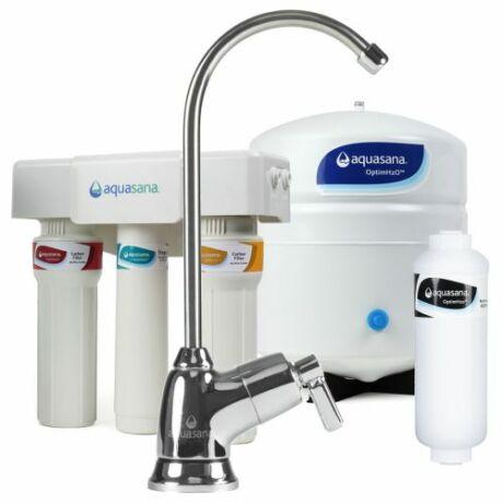 Aquasana fordított ozmózisos víztisztító